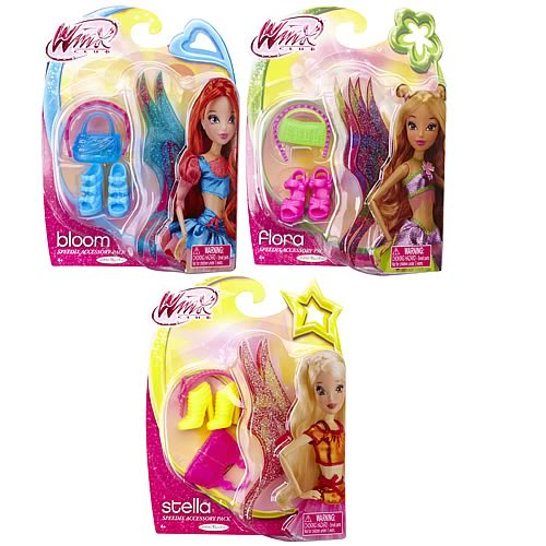 Winx Club 11 1/2-Inch Doll Accessory Pack Case