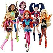 Winx Club Concert Collection Fashion Doll Wave 1 Case