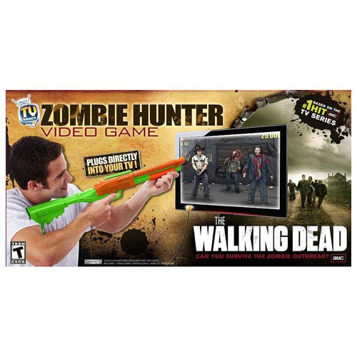 The Walking Dead Zombie Hunter Plug and Play Video Game