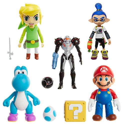 World Of Nintendo 4 Inch Action Figure Wave 9 Case