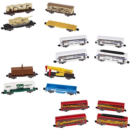 Power Trains Car 4-Pack Case