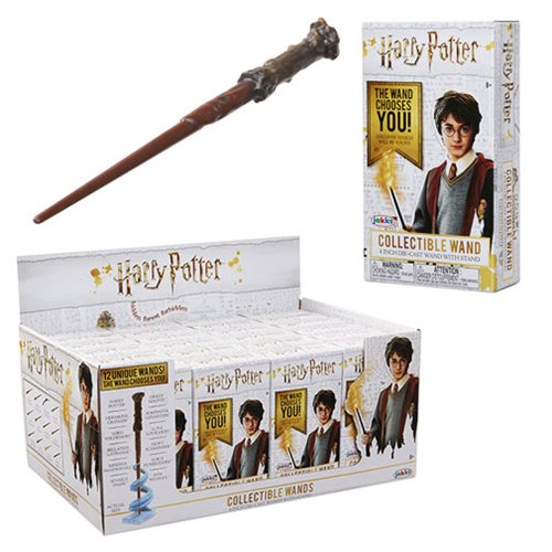 Harry Potter Die-Cast Wands Blind Boxed Wave 1 Display Tray