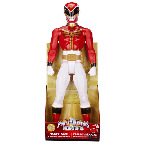 Power Rangers Megaforce 31-Inch Red Ranger Action Figure