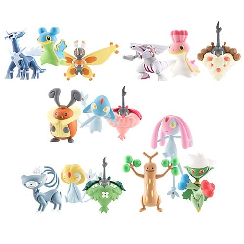 Pokemon Diamond & Pearl Wave 5 3-Pack Figure Case