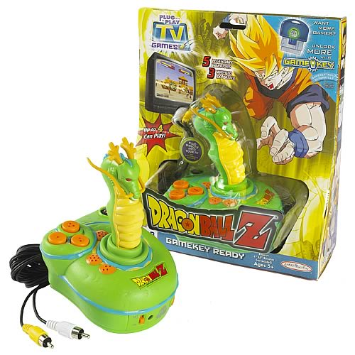 Tv Games Plug And Play : Dragon ball z plug play tv game jakks pacific