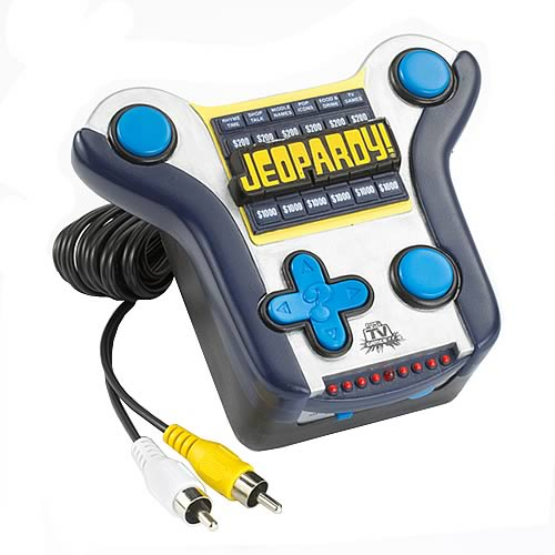 Tv Games Plug And Play : Jeopardy plug play tv game jakks pacific