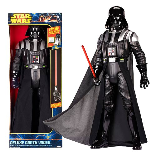 Star Wars Darth Vader w/ Lightsaber & Sounds 31-Inch Figure