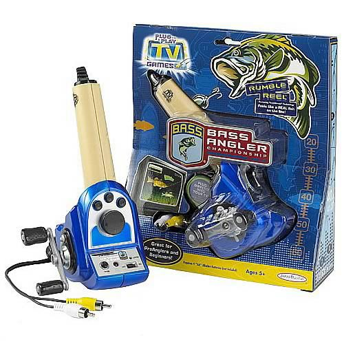 Tv Games Plug And Play : Bass angler championship plug play tv game jakks