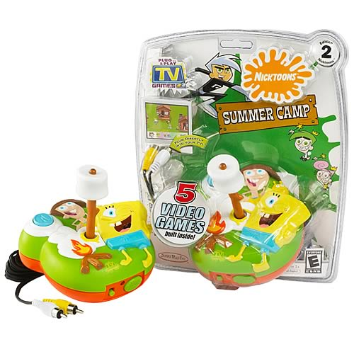 NickToons 2 Plug & Play TV Game