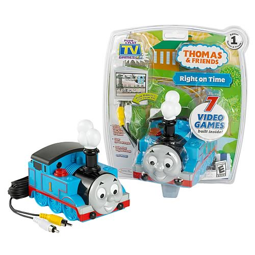 Thomas and Friends Right on Time TV Games - Jakks Pacific - Thomas ...