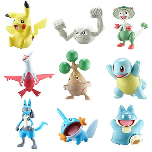 Pokemon Battle Frontier Wave 1 Single Pack Figure Case