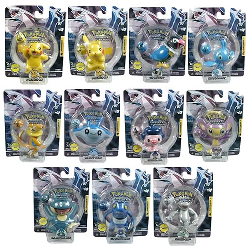 Pokemon Diamond & Pearl Wave 1 Single Pack Figure Case