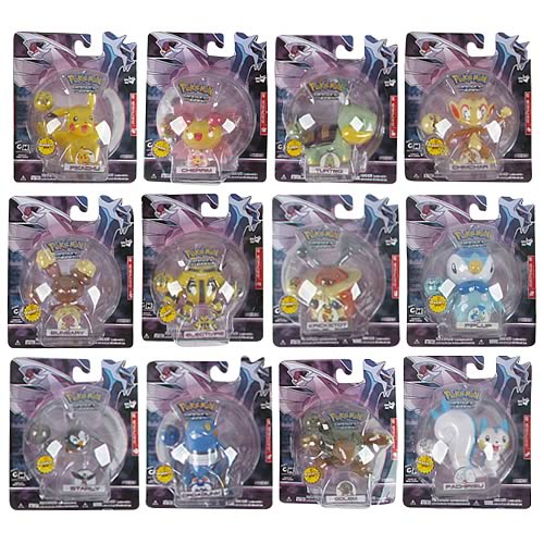 Pokemon Diamond & Pearl Wave 2 Single Pack Figure Case