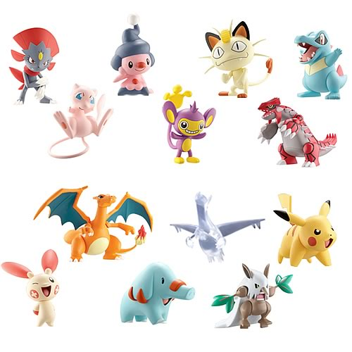 Pokemon Battle Frontier Wave 2 3-Pack Figure Case