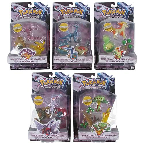 Pokemon Diamond & Pearl Wave 2 3-Pack Figure Case