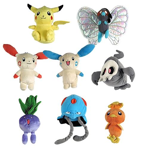 Pokemon Mini Plush Wave 1 Case