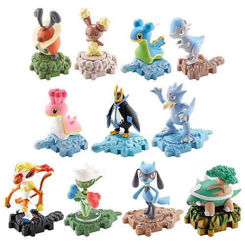 Pokemon Diamond & Pearl Wave 5 Single Pack Figure Case