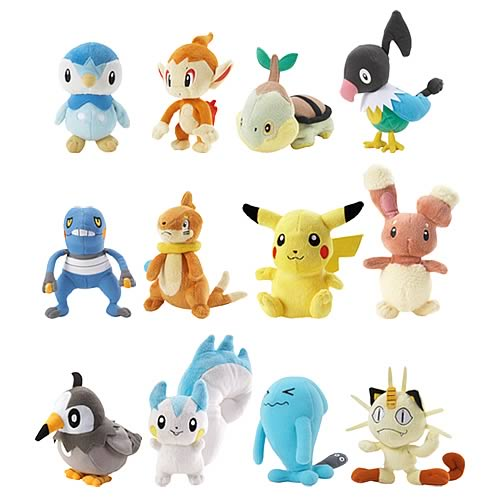 Pokemon Mini Plush Wave 6 Case