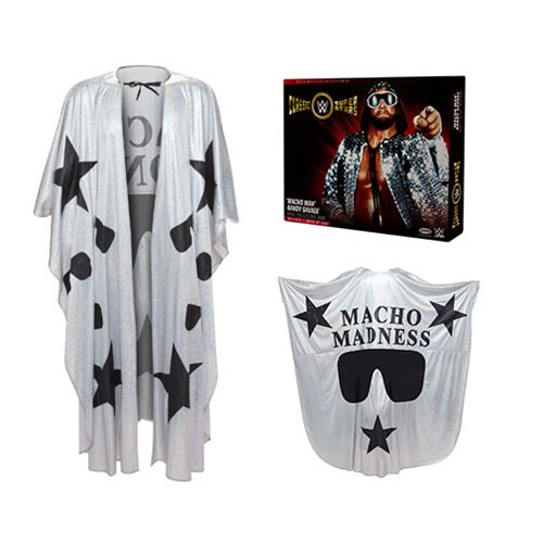 WWE Classic Superstar Macho Man Deluxe Dress Up Robe