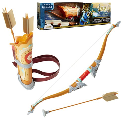 LoZ Breath of the Wild Bow and Arrow Roleplay Set
