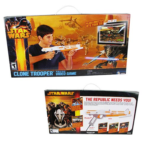 Star Wars Clone Wars Blaster Plug and Play Video Game