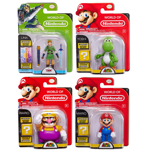 Super Mario 4-Inch Wave 1 Action Figure Case