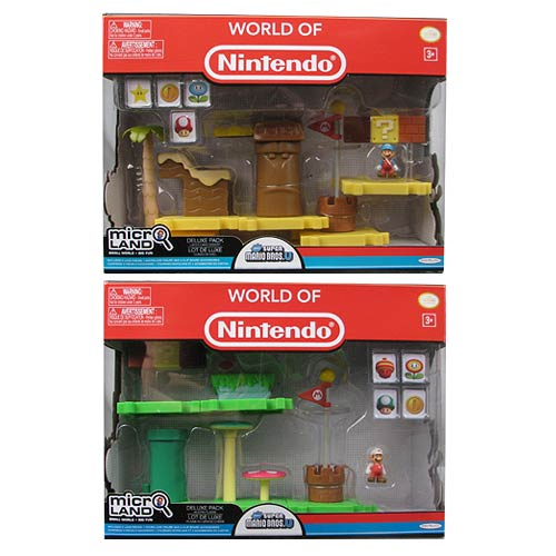 New Mario Bros. U Wave 1 Micro Deluxe Pack Case