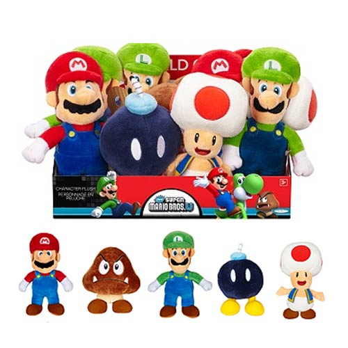 New Mario Bros. U Wave 1 Plush Case