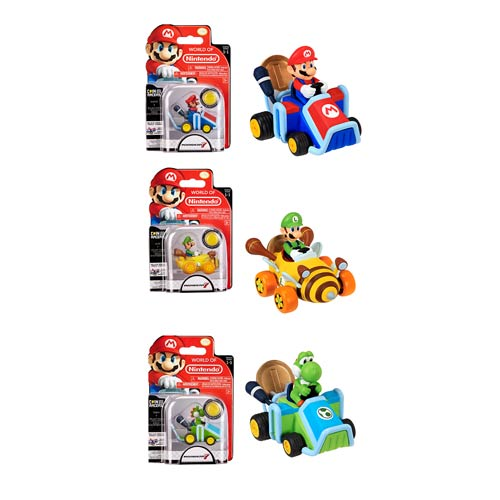 Super Mario Coin Racers Wave 1 Vehicle Case
