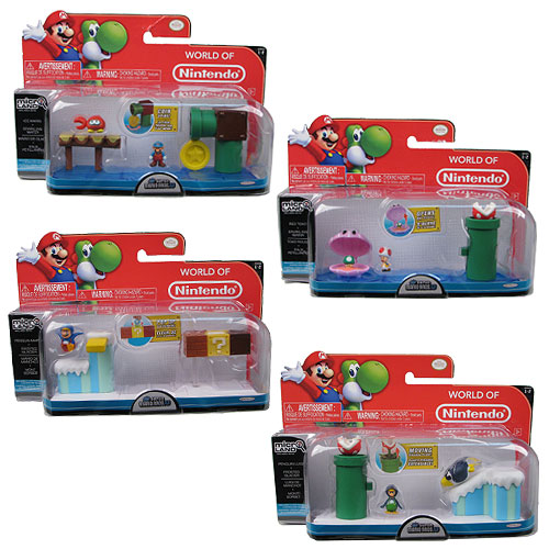New Mario Bros. U Wave 2 Micro Land 3-Pack Case