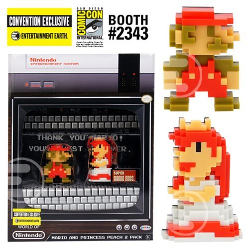 Super Mario and Princess Peach 2-Pack - Convention Exclusive