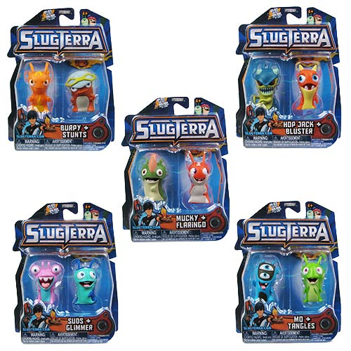 Slugterra Basic Figure 2-Pack Wave 3 Case