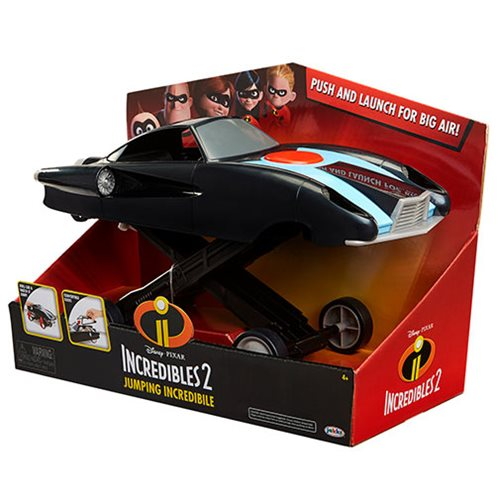 Incredibles 2 Jumping Incredibile 1:24 Scale Vehicle