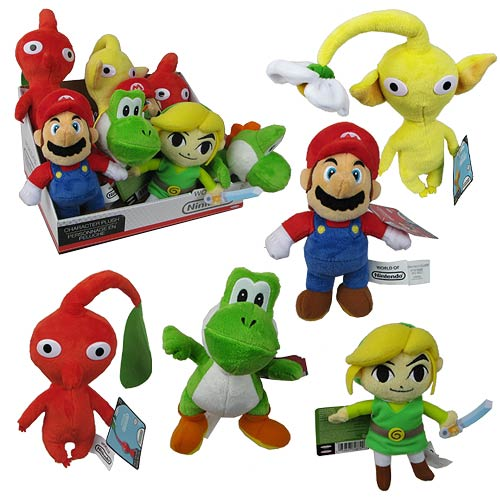 New Mario Bros. U Wave 2 Plush Case
