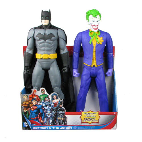 Batman DC Universe 20-Inch Batman and Joker Figure 2-Pack