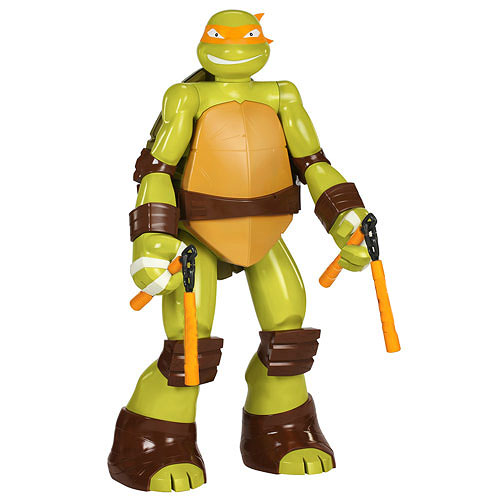 Teenage Mutant Ninja Turtles Michelangelo 48-Inch Figure