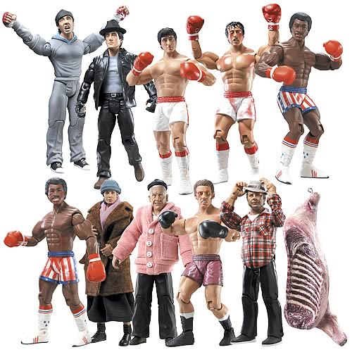 Rocky I Action Figures Case