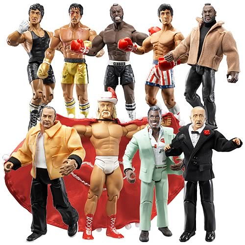 Rocky III Action Figures Case