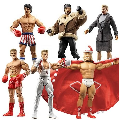 Rocky IV Action Figures Case