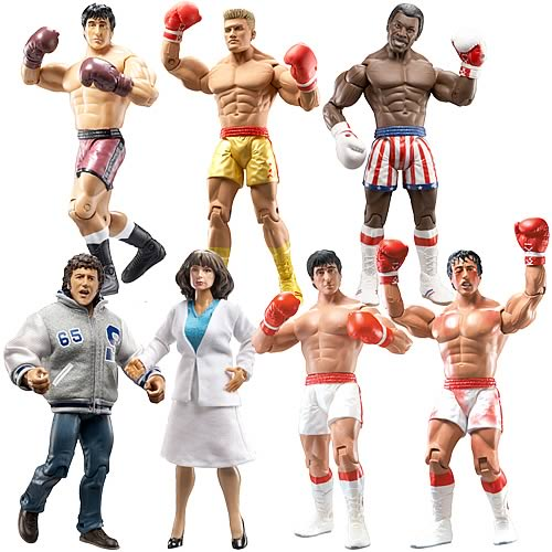 Best of Rocky Action Figures Series 1 Case