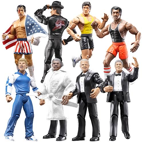 Best of Rocky Action Figures Series 2 Case