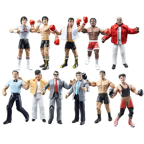 Rocky II Action Figures Case