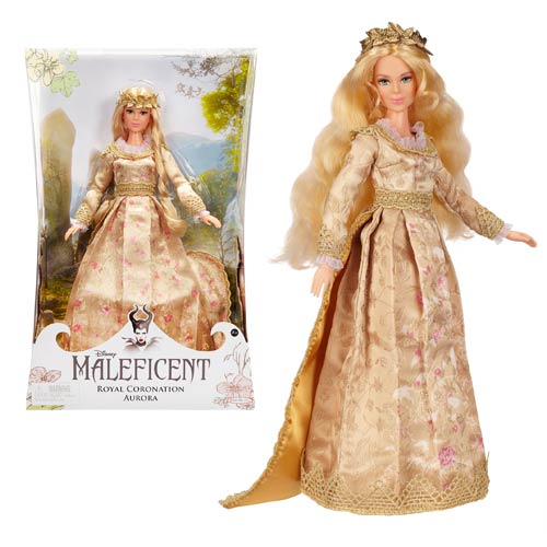 Maleficent Royal Coronation Aurora Collector Fashion Doll ...