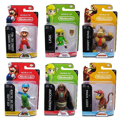 Nintendo 2 1/2-inch Wave 2 Action Figure Case