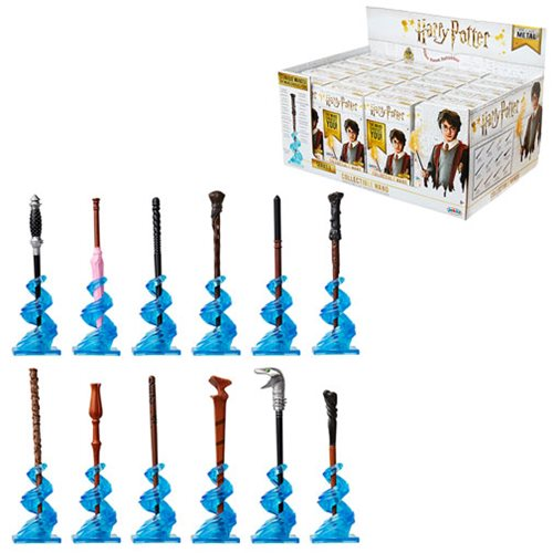 Harry Potter Die-Cast Wands Blind Boxed Wave 3 Random 4 Pack