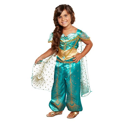 Disney Aladdin Live Action Jasmine Teal Dress