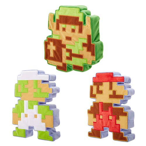 Nintendo World of Nintendo 8-Bit Plush Wave 1 Set