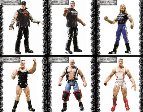 WWF Figures Series 12 Set