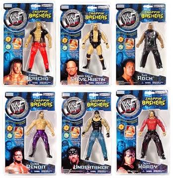 WWF Snappin Bashers Set