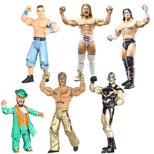 WWE Ruthless Aggression Figures, wrestling action figure, wwf figures, Jakks Pacific